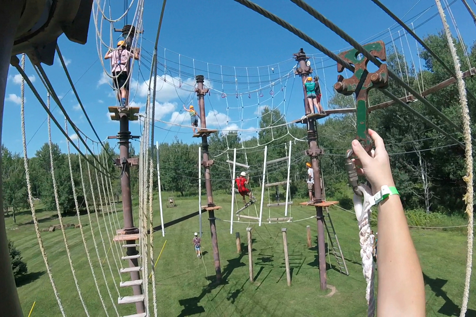 Clearwater Forest High Ropes Course